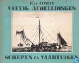 Vijftig afbeeldingen schepen en vaartuigen
