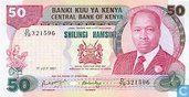 50 shillings du Kenya