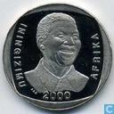 """Afrique du Sud 5 bord 2000 """"Mandela"""""""