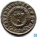 Roman Empire Siscia Kleinfollis Emperor Crispus AE3 321-324