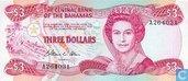 Bahamas 3 Dollar 1984