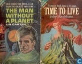 Livres - Rackham, John - The Man without a Planet + Time to Live