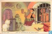 Tom Poes kaart Serie 4. Nr. 22