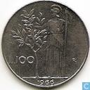 Italy 100 Lire 1966