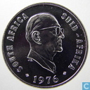 "Zuid-Afrika 10 cents 1976 ""The end of Jacobus Johannes Fouche's presidency"""