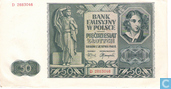 Pologne 50 Zlotych 1941