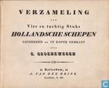 Verzameling van 84 stuks Hollandsche schepen
