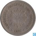 Uruguay 5 centesimos 1901