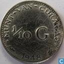 Curaçao 1/10 gulden 1948