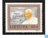 Visit of Pope John Paul II
