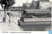 Kabelpontje over de Schie omstreeks 1938