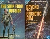Livres - Chandler, A. Bertram - The Ship from Outside + Beyond the Galactic Rim