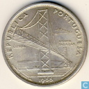 "Portugal 20 escudos 1966 ""Opening of Salazar Bridge"""