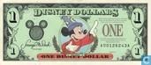 1 Disney Dollar 1997