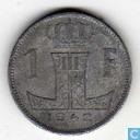 Belgique 1 franc 1942 (NLD-FRA)