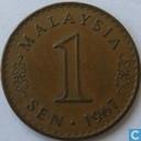 Malaisie 1 sen 1967