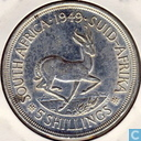 South Africa 5 shillings 1949