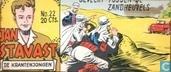 Comic Books - Jan Stavast - Gevecht tussen de zandheuvels