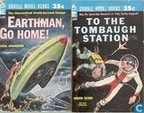 Books - Tucker, Wilson - Earthman Go Home! + To The Tombaugh Station