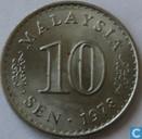 Maleisië 10 sen 1978