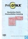 Deutsches Reich Plattenfehler-Katalog