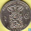 Niederländisch-Ostindien ¼ Gulden 1855