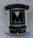 Meursing Biscuits Wafels [zwart op wit]