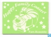 Happy Family Coaster - Buwalda - groen