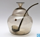 Glass / crystal - Kristalunie - Panacee Bowlstel 3 liter fumi