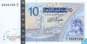 Tunisia 10 Dinars