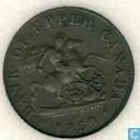 Upper Canada ½ penny 1850
