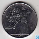 Italy 100 lire 1963