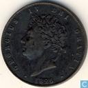 Royaume Uni ½ penny 1826