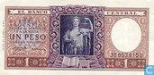 Argentine 1 Peso 1956