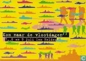 """B000636 - Nationale Vlootdagen """"Kom naar de vlootdagen 7, 8 en 9 juli Den Helder"""""""