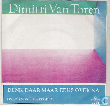 Dimitri Van Toren Denk Daar Maar Eens Over Na