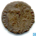 Romeinse Keizerrijk Constantinopolis AE3 van Keizer Honorius 395-401