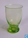 Zinnia Vaas vert-chine