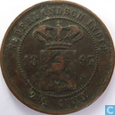 Dutch East Indies 2½ cent 1897