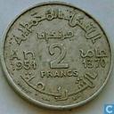 Maroc 2 francs 1951