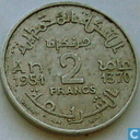 Morocco 2 francs 1951