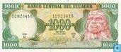 Ecuador sucres 1000