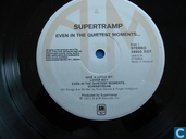 Disques vinyl et CD - Supertramp - Even in the quietest moments