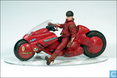 Kaneda with Motorcycle