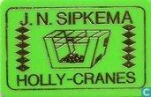 J.N. Sipkema Holly-Cranes lichtgroen