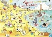 S000531 - Disney - Donald Duck, groetjes uit Duckstad