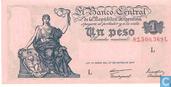 Argentinien 1 Peso-1948