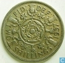 Monnaies - Royaume-Uni - Royaume Uni 2 shillings 1957