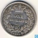 UK 1 shilling 1860