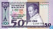 Madagaskar 50 Francs